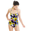 Coloful Poppy Flower (Swimsuit)