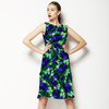 Tropical Leaves Pattern No.6 Caladium (Dress)