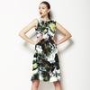Tropical Leaves Pattern No.5 Caladium (Dress)