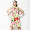 Flower Vector Green (Dress)
