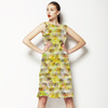 Seamless Texture 3d Camouflage Abstrac Textile (Dress)