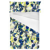 Seamless Abstract Colorful Inspired Floral Textile (Bed)