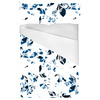 Seamless Abstract Blue White Inspired Floral Textile (Bed)