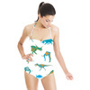 Dinosaurs and Mammoth Seamless Pattern (Swimsuit)