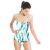 Floral Watercolor Marks (Swimsuit)