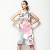 Color Block Floral (Dress)