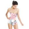 Color Block Floral (Swimsuit)
