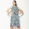 Blue Leopard (Dress)