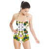 Folk Painting (Swimsuit)