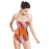 Motion Blurred Brushstrokes (Swimsuit)