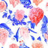 Melted Roses Seamless Pattern (Original)