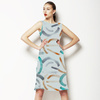 596 Abstract Strokes (Dress)