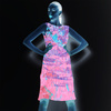 Chromatic Structures (Dress)