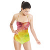 Abstract Bright Watercolor Seamless Pattern (Swimsuit)