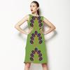 Bold Branch Design on Woodland Green (Dress)