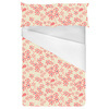 Pink Floral Daisy, All Over, Scattered Design (Bed)