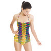 Psychedelic Stripe Wave (Swimsuit)