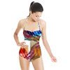 Abstract Brush Strokes (Swimsuit)