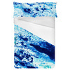 Marbling Paper Pattern Navy (Bed)