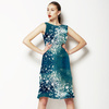 Monoprint Artistic Digital Texture Speckles (Dress)