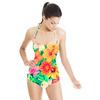 Tropical Floral Digital Print (Swimsuit)
