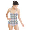 Mosaic Pastel Geometric (Swimsuit)