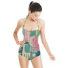 Painted Patchwork 4 (Swimsuit)
