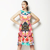 Mirrored Tropical Print (Dress)