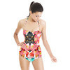 Mirrored Tropical Print (Swimsuit)
