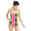 Morning Glory Stripe (Swimsuit)
