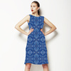 Watercolour Weave -Blue (Dress)