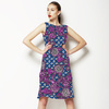 African Ethnic Floral With Busy Background (Dress)