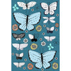Wild Botanicals Butterflies and Dragonflies. (Original)