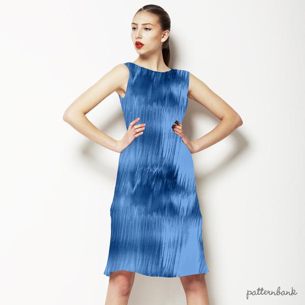 Blue Ice Textured Pattern