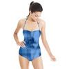 Blue Ice Textured Pattern (Swimsuit)