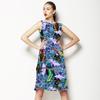Hummingbird and Flowers (Dress)