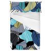 580 Geo Camo Stripes Print (Bed)
