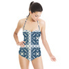 Blue Tiles (Swimsuit)
