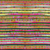 Exotic Floral Stripes (Original)
