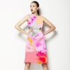 634 Floral Geo (Dress)