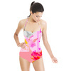 634 Floral Geo (Swimsuit)