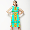 Tropical Floral and Plants No8 Repeat Tropical Floral Pattern by Dawid Roc (Dress)