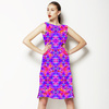 Tropical Floral and Plants No7 Repeat Tropical Floral Pattern by Dawid Roc (Dress)