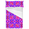 Tropical Floral and Plants No7 Repeat Tropical Floral Pattern by Dawid Roc (Bed)