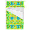 Tropical Floral and Plants No6 Repeat Tropical Floral Pattern (Bed)
