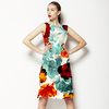 576 Tropical Floral Print (Dress)