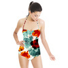 576 Tropical Floral Print (Swimsuit)