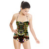 Ethnic Flowers (Swimsuit)