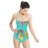 Animal Scarf Print (Swimsuit)