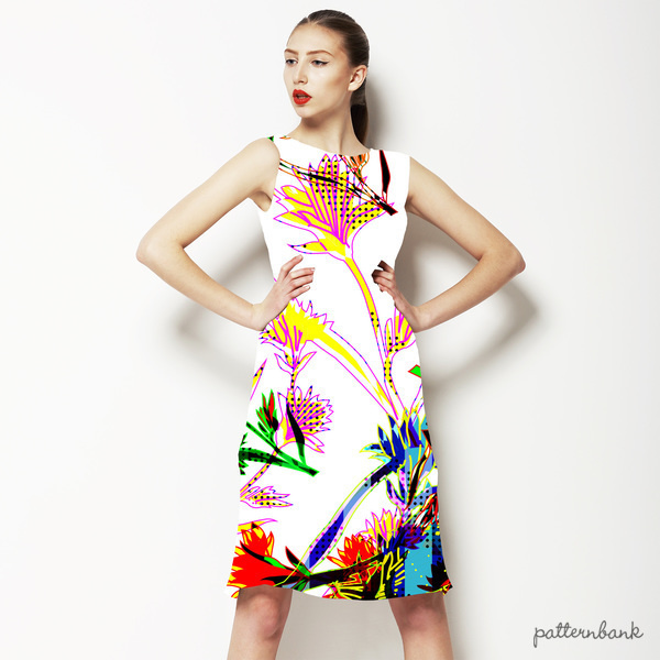 Bold Graphic Floral